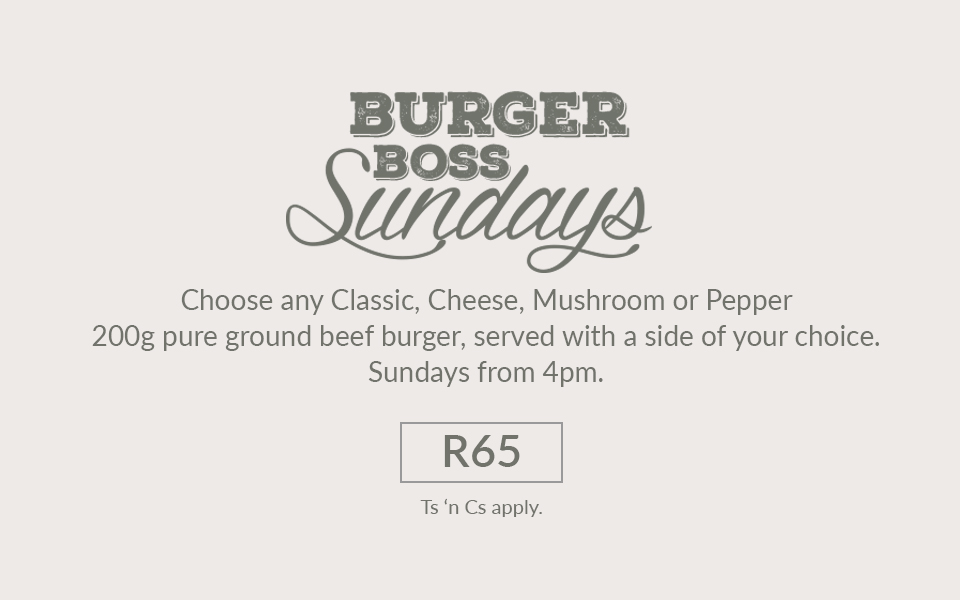 Burger Boss Sundays