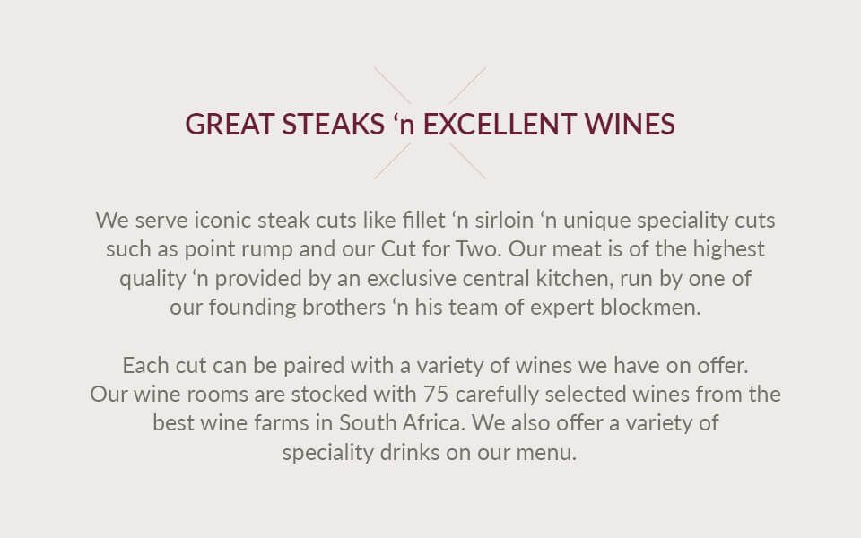 Great Steaks and Excellent Wines