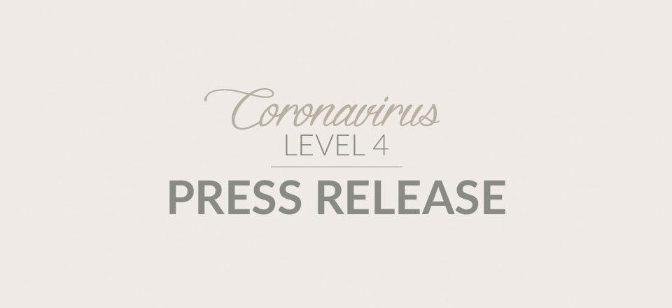 Covid-19 press release